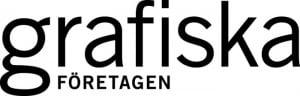 Den nya logotypen för Grafiska Företagen.