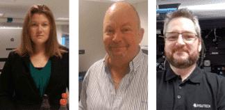 Maria Brandt, Bent Wehage och Harald Myhre Berland är nya ansikten på Visutech.