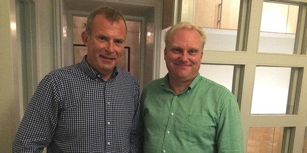 Anders Medbo och Ulf Sunnberg Grafkom