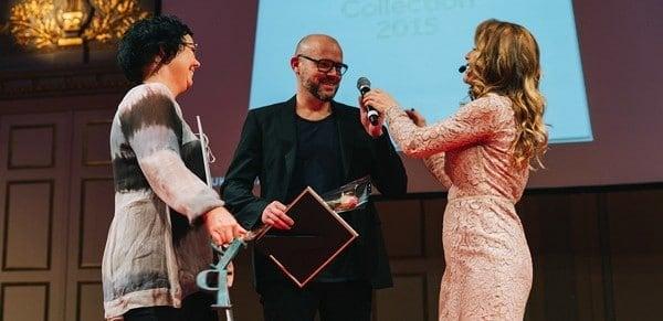 """Vinnare i kategorin Produktkataloger: """"Tingest Collection 2015"""", GöteborgsTryckeriet på uppdrag av Logic Object Dept (Foto: Stina Stjernkvist)"""