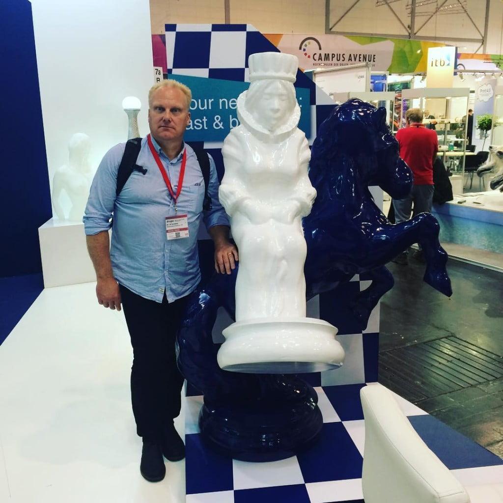 Chairman of grafkomse st Massivit large format 3D Printing grafkom16hellip