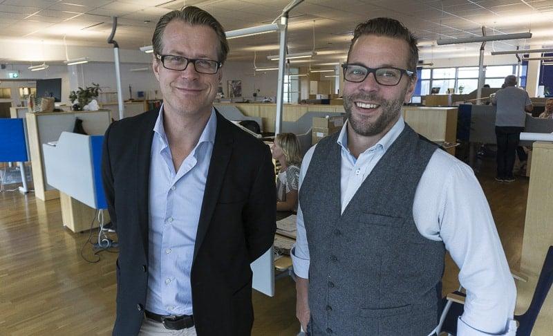 Mindre påverkan på miljön och förbättrad kostnadseffektivitet är två återkommande argument när Gustaf Albèrt och Andreas Boustedt berättar kring kundfördelarna med satsningarna som Elanders just nu gör på den svenska marknaden.